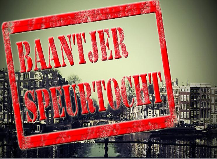 Baantjer Speurtocht Amsterdam. Spannend Moordspel