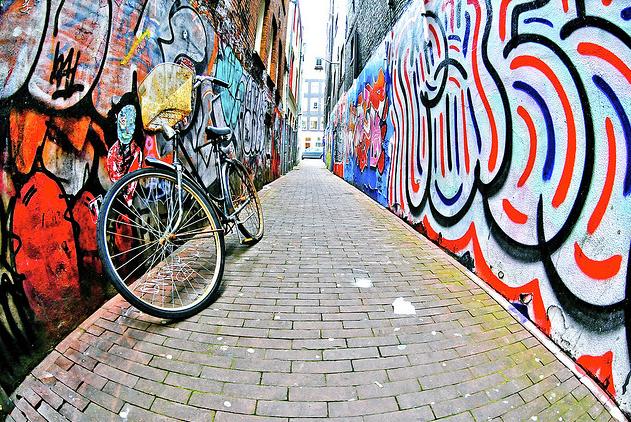 Fietsspeurtocht Rotterdam