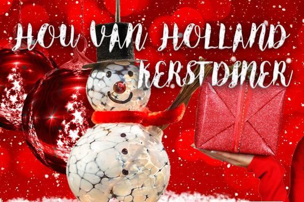 Hou van Holland Kerstdiner in Utrecht
